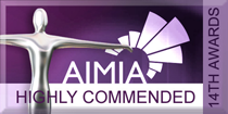 Highly Commended AIMIA Award
